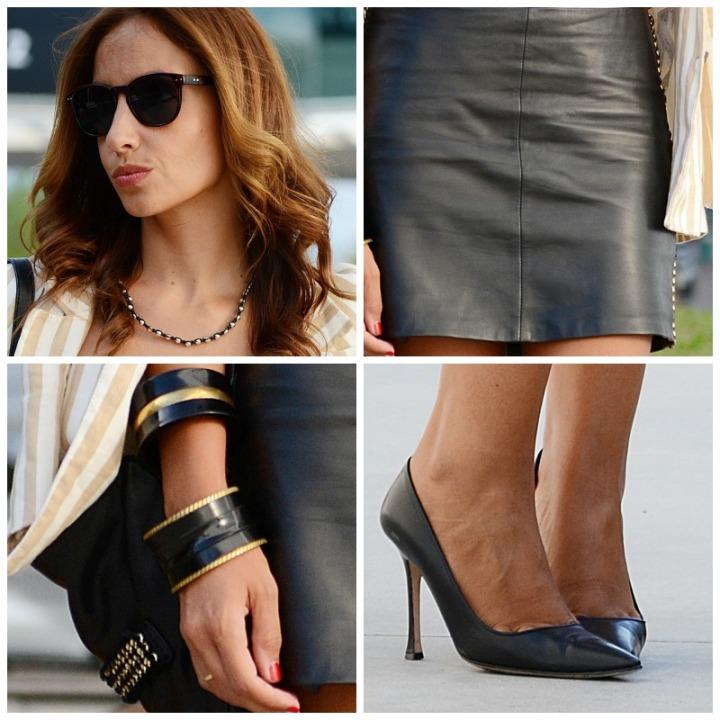 Detalles del look de Silvia / Details