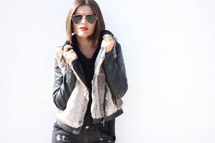 beloved chaqueta pelo y polipiel 6