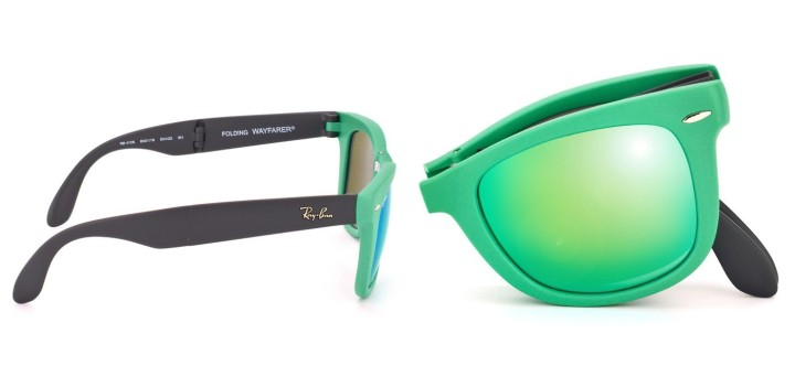 Gafas de sol Ray-Ban, modelo Wayfarer plegable / Imagen;
