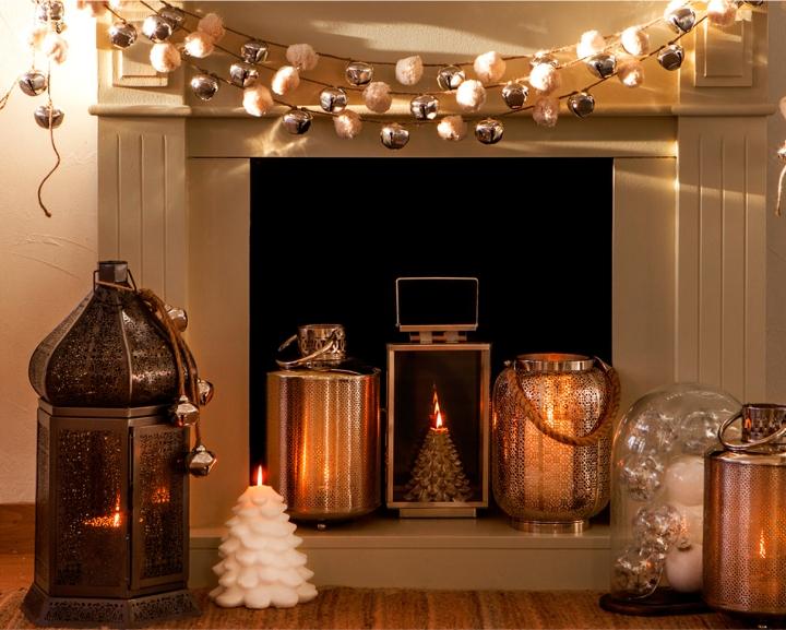 Decoración navideña de Zara Home