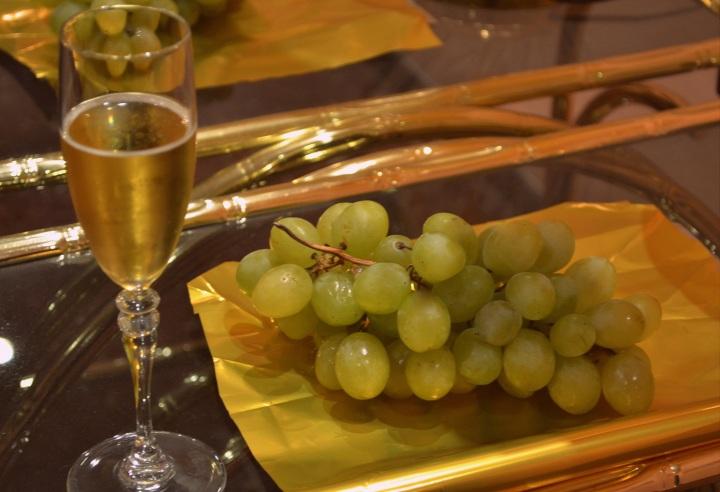 Las 12 uvas y champagne