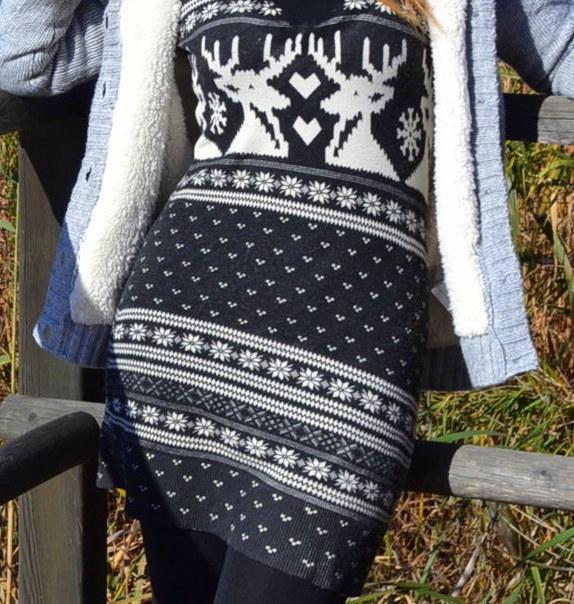 Los renos el print de la Navidad