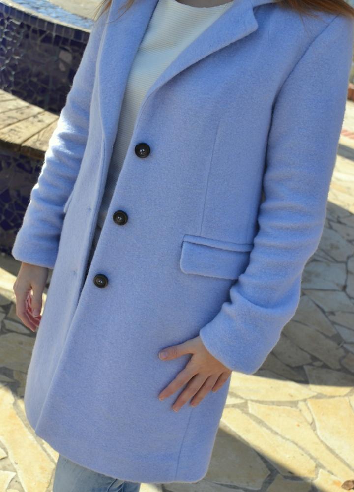 Details of my blue coat/ Detalles del abrigo