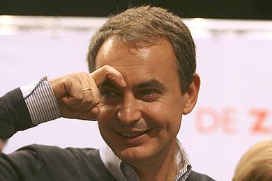 Zapatero y su icono de la ceja/ Imagen blogs.lasprovincias.es