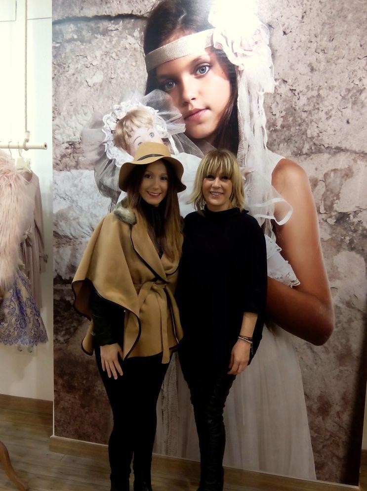 Con la diseñadora Hortensia Maeso