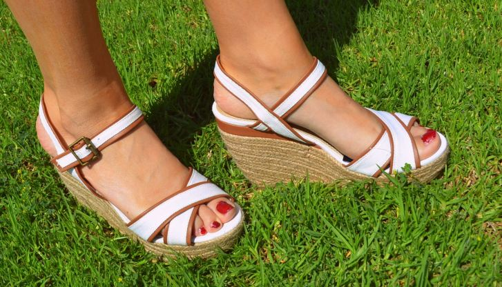 Details of my sandals