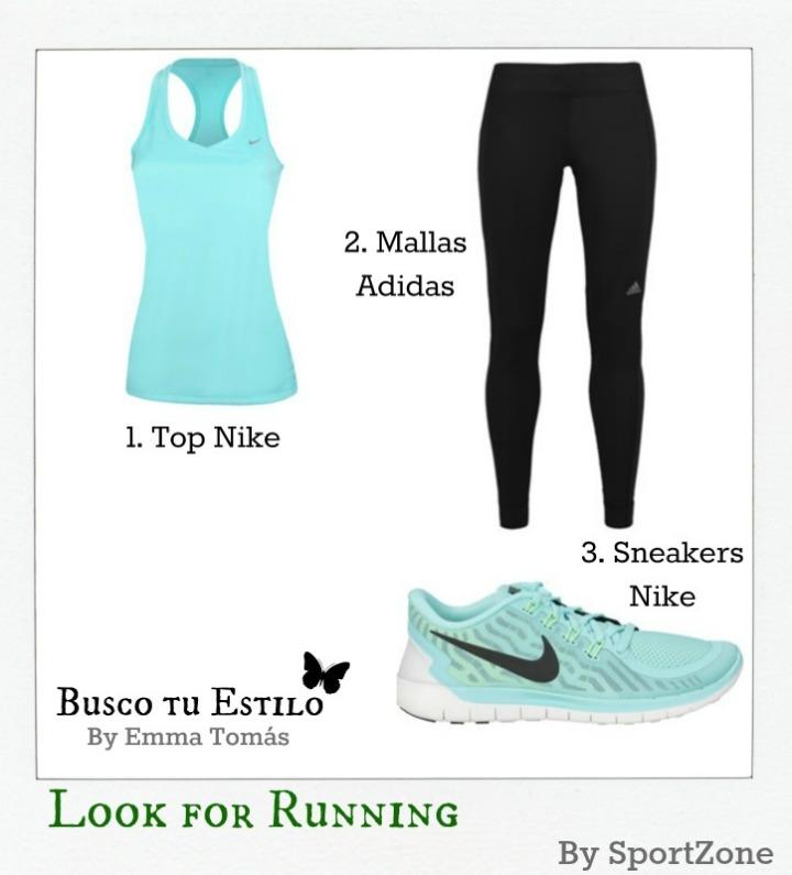 Look running