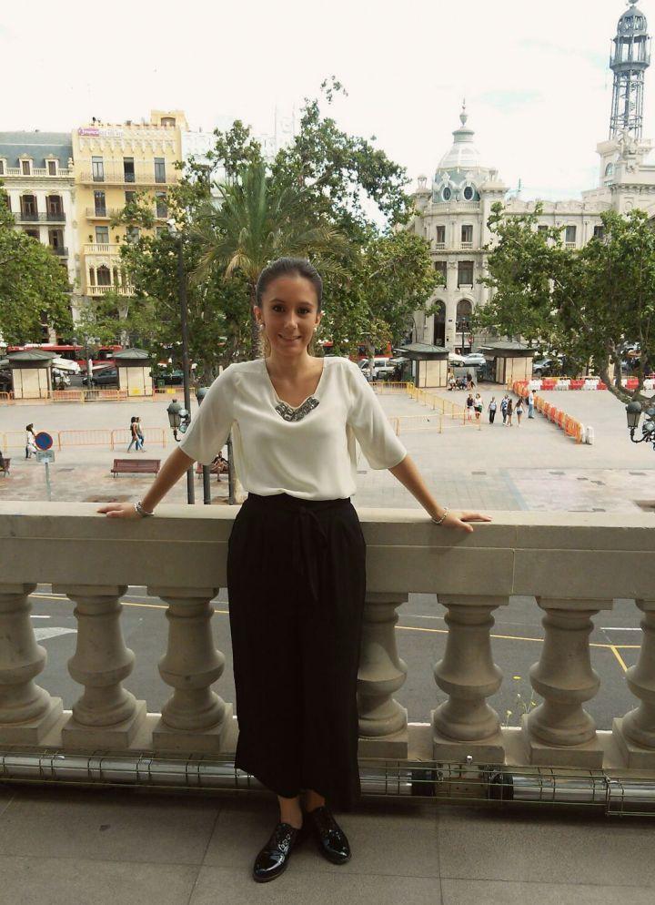 Balcón del Ayuntamiento de Valencia